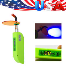 1 X Dental Wireless LED Curing Light Lamp BS300 2000mw/c㎡ Noiseless  Green CE US