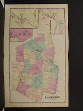 Maine, Androscoggin County Map, 1873 Town of Livermore, Double Page O3#47