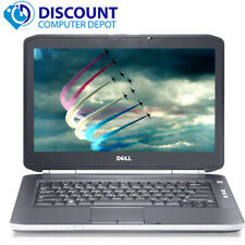 Dell Laptop i5 Computer Latitude PC Windows 10 Pro 2.5GHz 8GB 500GB HD HDMI Wifi