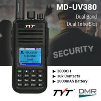 TYT MD-UV380G DMR w/ GPS V/UHF Dual Band Tier I & II Two Way Radio Transceiver