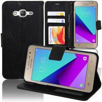 Etui Housse Portefeuille Rabat Cuir PU Samsung Galaxy Grand Prime Plus SM-G532F