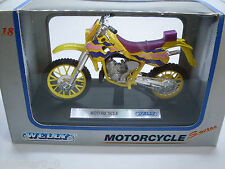 Cross Motorcycle, Welly Motorrad Modell 1:18, Neu, OVP