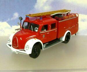 1/43 MAGIRUS DEUTZ MERCUR FIRE ENGINE 1951-72 PFAFFENHOFEN GERMANY FIRE BRIGADE