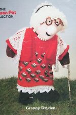 "Postman Pat's ""Granny Dryden Toy/Doll KNITTING PATTERN (MAC026)"