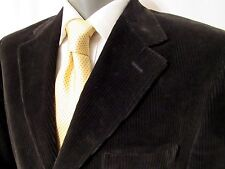 Brooks Brothers 1818 Loro Piana Mens Brown Corduroy Made in Italy Blazer 39R