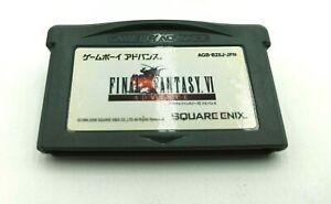 Nintendo Game Boy Advance - Final Fantasy VI - Square Enix Cartridge AGB BZ6J