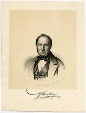 Antique Print-MARTINUS GERARDUS TETAR VAN ELVEN-ARCHITECT-Blommers-1853