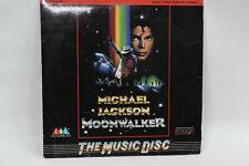 Michael Jackson : Moonwalker - Laser Disc /Laserdisc