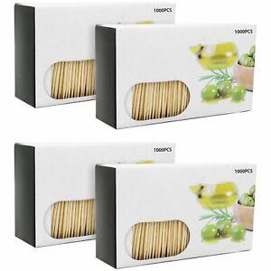 4000x Zahnstocher aus Holz - Zahnhölzer für den täglichen Gebrauch - Toothpicks