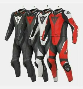 New Motorcycle Racing Leather Suit Motorbike Racing Leather Suit