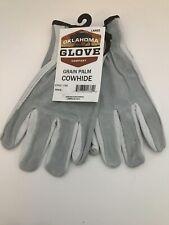 Oklahoma Glove company Grain Palm Cowhide Work Gloves