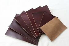 smooth Leather Genuine cowhide Shapes 1.8 to 2 mm thick  8.5 * 6.3 inch YT08