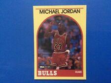 1989-90 NBA Hoops Superstars Yellow Card #12 MICHAEL JORDAN Sears Chicago Bulls