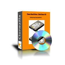 Clone Hard Drive / Disk Ghost CD Backup Image Copy Duplicator Software Windows
