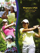 Birdie Kim signed auto Wegman's LPGA program coa PBA
