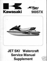 2001 KAWASAKI JET SKI  900STX SERVICE MANUAL NEW