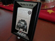 ZIPPO CUSTOM JEEP IN FRONT OF ZIPPO BARBOUR ST. OFFICE ZIPPO LIGHTER MINT 2013