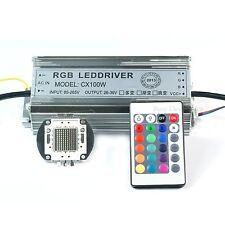 100W RGB High Power LED Light Lamp Panel 100W RGB High Power LED Driver AC85-265