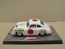 """Rare Ninco 50198 Porsche 356 A Coupe Evita """" #200 Eva Peron """" 1:32 Slot Car L@K"""