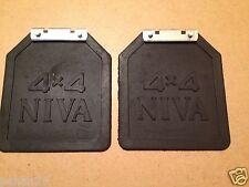 Rear Mudflaps Pair L+R 4X4 2121-8404312/13 Lada Niva Schmutzfänger hinten VAZ