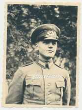 Foto-soldado-Wehrmacht-paraguas gorro 2.wk (e356)