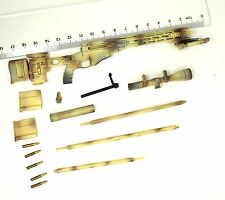 P05-06 1/6 Scale HOT X-TOYS MSR Sand Sniper Rifle Set TOYS