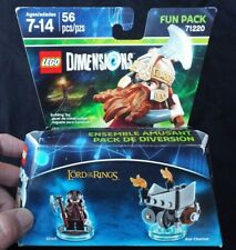 Lego LORD OF THE RINGS Dimensions Fun Pack 71220 Dimli & Axe Chariot