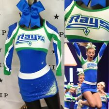 Real Cheerleading Uniform Allstars Stingrays Youth Med