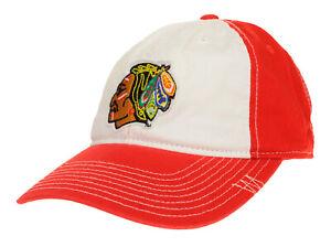 CCM NHL Youth Chicago Blackhawks Vintage Logo Hat, OSFM
