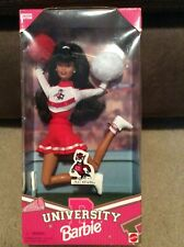 Rare Brunette In Box Vintage Nc State University Barbie Special Edition 1996