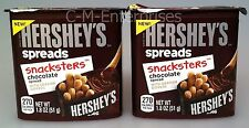 Hershey's Spreads Snacksters Chocolate Spread with Graham Dippers (2 Pack)