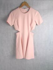 ELIZABETH AND JAMES SIZE 8 UK BABY PINK FITTED DRESS EXCELLENT CONDITION