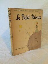 The Little Prince 1943 Le Petit Prince Antoine De Saint-Exupery Seventh Printing