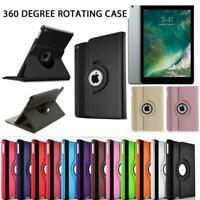 360 Rotating Leather Case Cover For Apple iPad Mini 4 Black, Pink, Purple