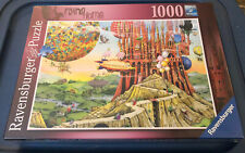 NEW Ravensburger 1000 Piece Flying Home Colin Thompson Hot Air Balloons Puzzle