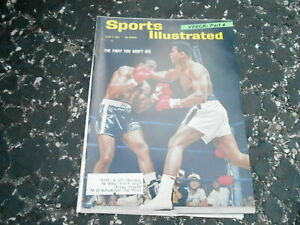 June 7, 1965 Boxing Cassius Clay Muhammad Ali SPORTS ILLUSTRATED