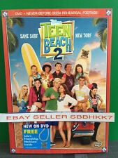 Teen Beach Movie 2 (DVD, 2015) BRAND NEW WITH SLIPCOVER AND NECKLACE, FREE SHIPP