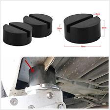 2×Auto Geschlitzte Schienen-Boden-Jack-Scheibe Gummiauflage-Adapter für JACKPAD