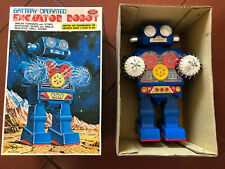 EXCAVATOR ROBOT HORIKAWA - MINT IN BOX - FONDO DI MAGAZZINO - JAPAN
