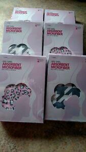 (6)  beauty 360 Hair Towel Absorbent Microfiber -  Easy Twist & Loop