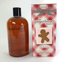 Philosophy The Gingerbread Man Shower Gel/Bubble Bath/Shampoo 480 ml/16 FL OZ BN