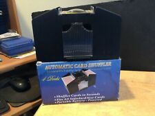 PRE OWNED 4 DECK AUTOMATIC CARD SHUFFLER WORKS GREAT