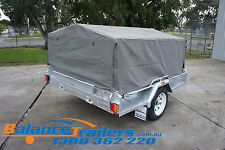 7X5 BOX TRAILER CAGE CANVAS COVER TARP 900mm 3 FOOT
