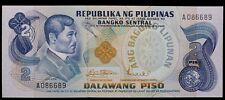 Central Bank of Philippines 2 Two Piso Banknote A086689 P 159