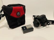 Canon PowerShot SX30 IS 14.1MP Digital SLR Camera - Black - w/ Battery & Case