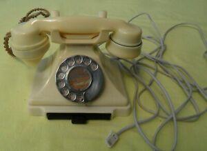Vintage Ivory GPO Bakelite 232 Telephone