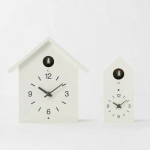 MUJI Cuckoo Clock White for Wall and Table Two Size From Japan with Tracking