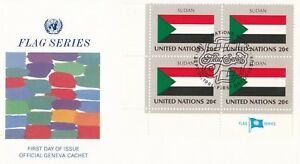 UN110) United Nations 1981 Sudan 20c Stamp - Flag Series. FDC Price: $8.00