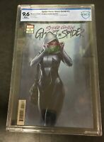 Marvel Comics Spider Gwen:Ghost Spider CBCS rated 9.6 Jee Hyung Lee Variant