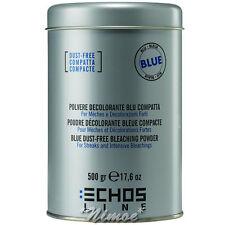 Blue Dust-free Bleaching Powder 500 gr Echos Line ® Polvere Decolorante Blu Com.